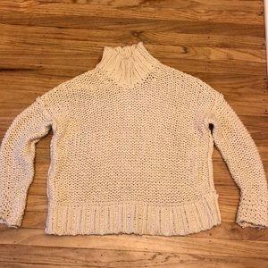 Free People chunky sweater PRE WORN